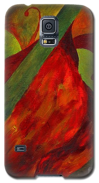 Green Neck Fiddle Galaxy S5 Case