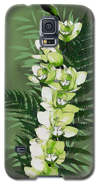 Green Orchid Galaxy S5 Case