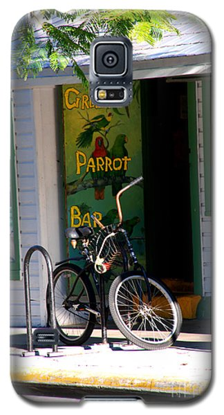 Green Parrot Bar Key West Galaxy S5 Case