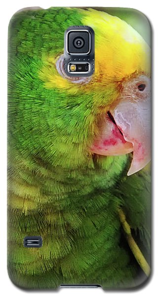 Green Parrot Galaxy S5 Case