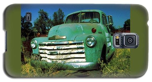 Green Pickup 1959 - American Car Photo Galaxy S5 Case by Art America Gallery Peter Potter