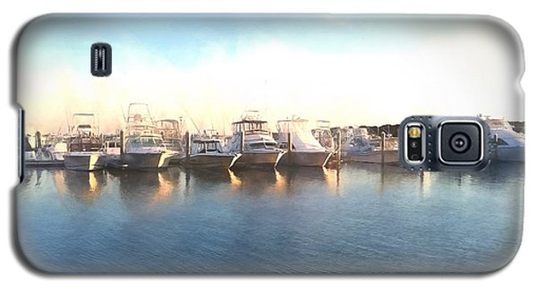 Green Pond Harbor Galaxy S5 Case