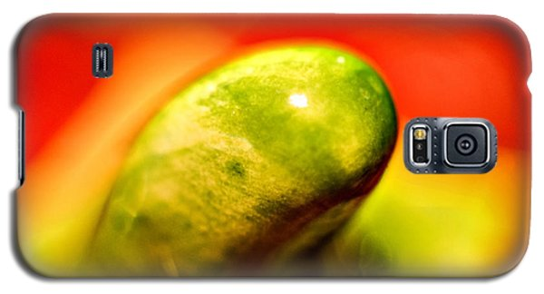 Green Red Liquid Clay Galaxy S5 Case
