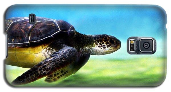 Green Sea Turtle 2 Galaxy S5 Case