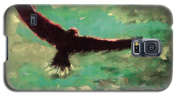 Green Sky Galaxy S5 Case