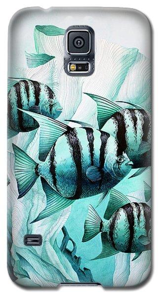 Green Spades Galaxy S5 Case