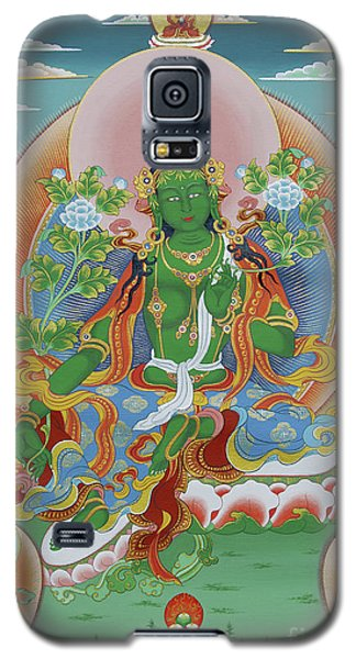 Green Tara With Retinue Galaxy S5 Case