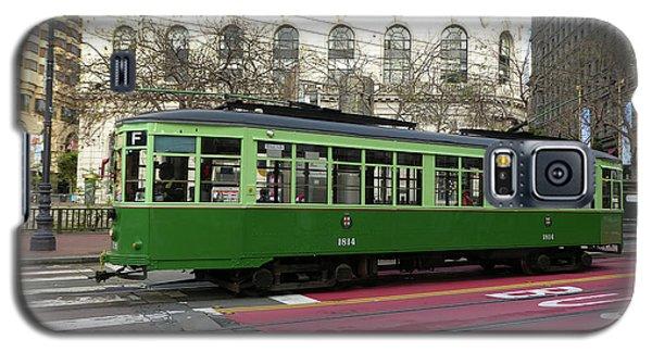 Green Trolley Galaxy S5 Case