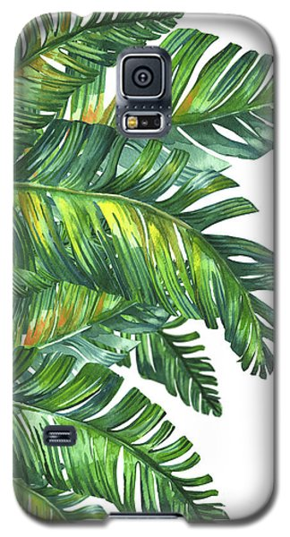Green Tropic  Galaxy S5 Case by Mark Ashkenazi
