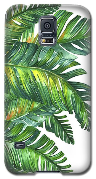 Fantasy Galaxy S5 Case - Green Tropic  by Mark Ashkenazi