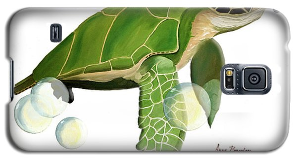 Green Turtle Galaxy S5 Case