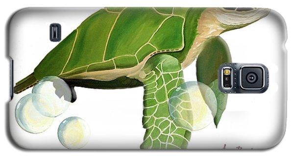 Green Turtle Galaxy S5 Case