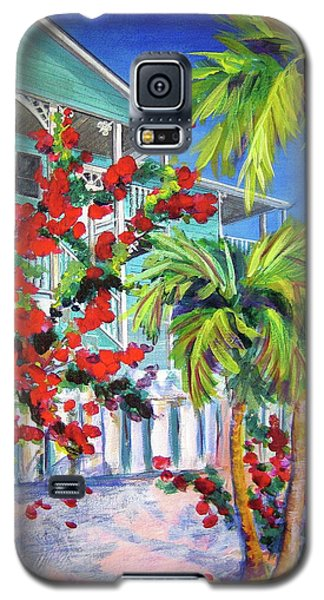 Green Turtle House Galaxy S5 Case