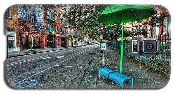 Green Umbrella Bus Stop Galaxy S5 Case