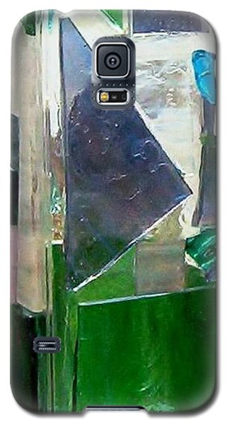 Galaxy S5 Case featuring the glass art Green Vase by Jamie Frier