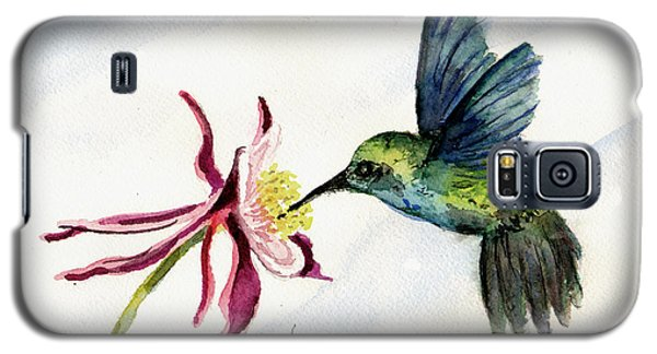 Green Violet-ear Hummingbird Galaxy S5 Case