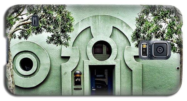 Galaxy S5 Case - Green Wall by Julie Gebhardt