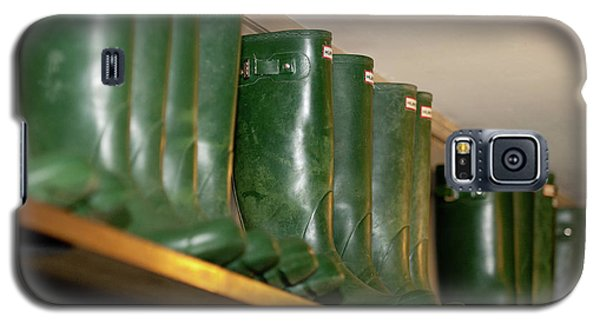 Green Wellies Galaxy S5 Case