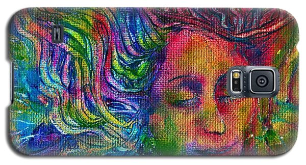Green Woman Galaxy S5 Case