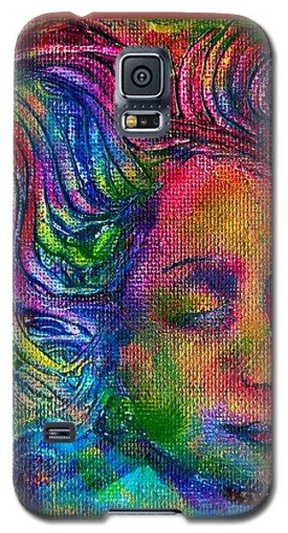 Green Woman Galaxy S5 Case