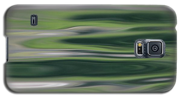 Greens Of Spring Galaxy S5 Case by Cathie Douglas