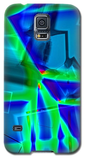 Galaxy S5 Case featuring the digital art Greenstick by Lola Connelly