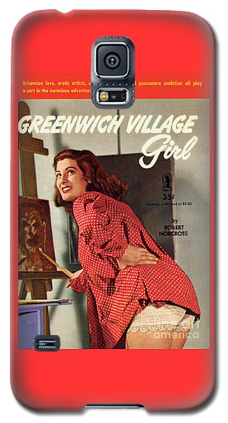 Greenwich Village Girl Galaxy S5 Case