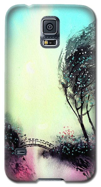 Galaxy S5 Case featuring the painting Greeting 1 by Anil Nene