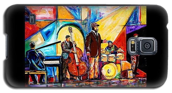 Gregory Porter And Band Galaxy S5 Case by Everett Spruill