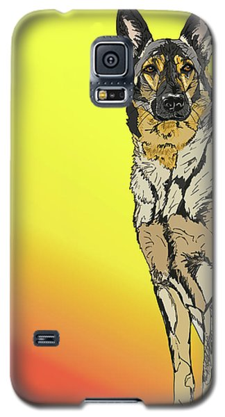 Gretchen In Digital Galaxy S5 Case