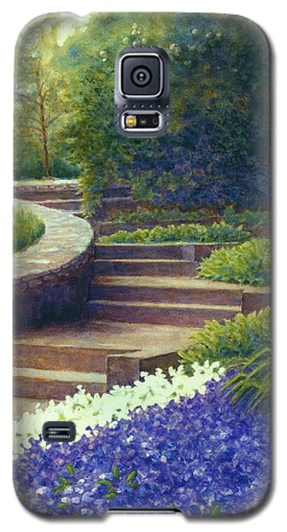 Gretchen's View At Cheekwood Galaxy S5 Case by Janet King
