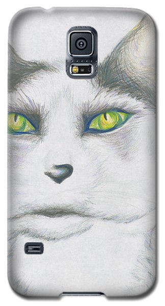 Galaxy S5 Case featuring the drawing Gretta by Kim Sy Ok