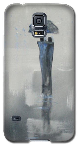 Grey Day Romance Galaxy S5 Case by Raymond Doward