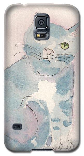 Grey Tabby Galaxy S5 Case