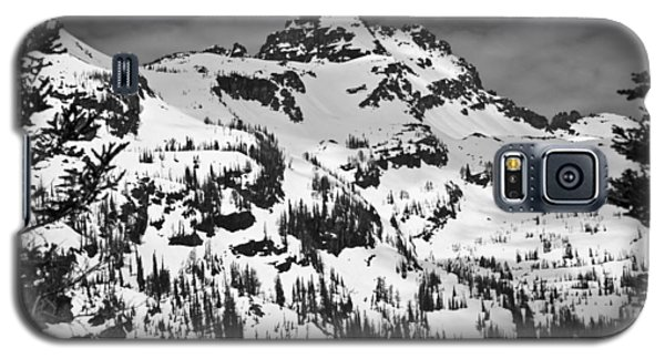 Grey Wolf Peak, Mission Mountains Galaxy S5 Case