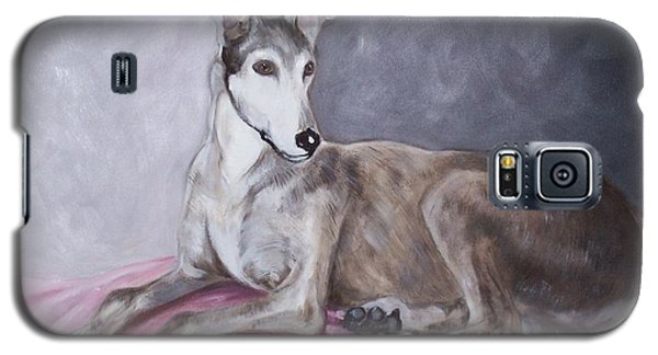 Greyhound At Rest Galaxy S5 Case by George Pedro