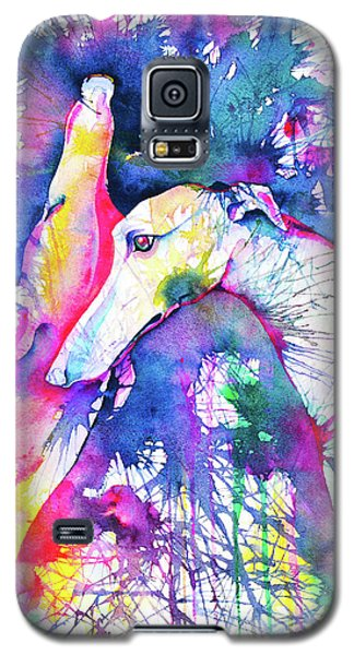 Greyhound Trance Galaxy S5 Case by Zaira Dzhaubaeva