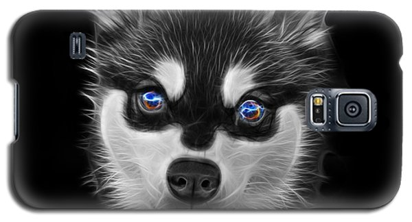 Greyscale Alaskan Klee Kai - 6029 -bb Galaxy S5 Case