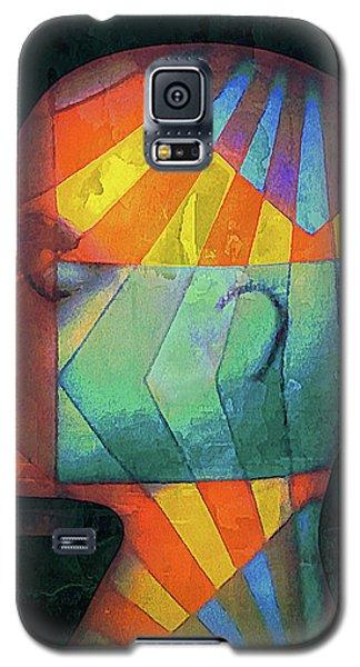 Grid Head 2 Galaxy S5 Case