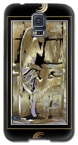 Grief Angel - Black Border Galaxy S5 Case
