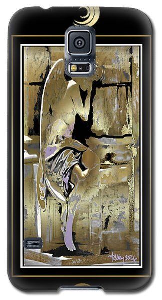 Grief Angel - Black Border Galaxy S5 Case