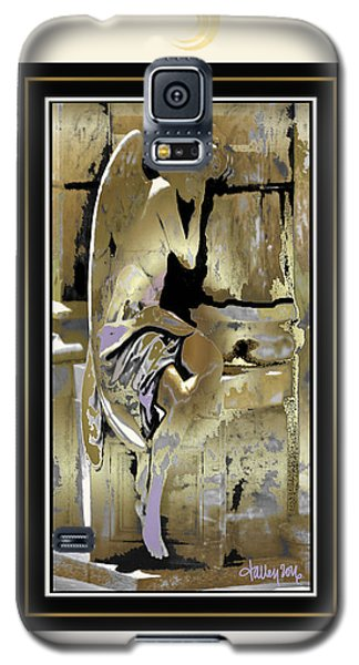 Grief Angel - Light Border Galaxy S5 Case