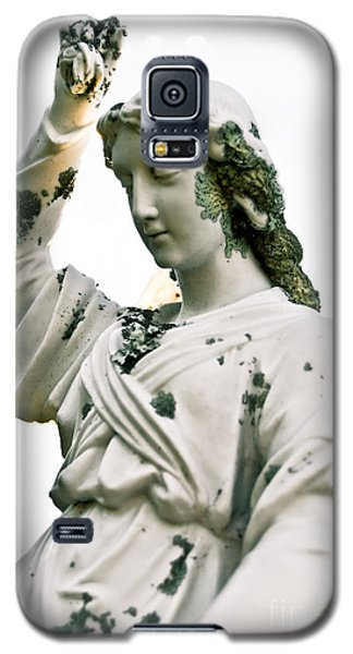 Galaxy S5 Case featuring the sculpture Grieving Angel by Yurix Sardinelly