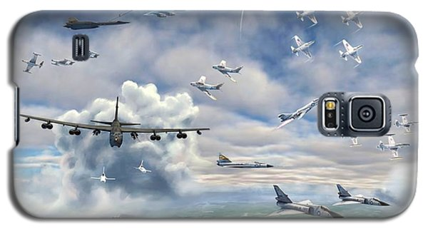 Galaxy S5 Case featuring the painting Griffiss Air Force Base by Dave Luebbert