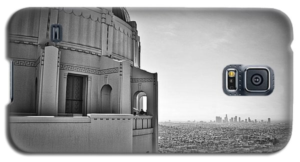 Griffith Observatory And Downtown Los Angeles Galaxy S5 Case by Kirt Tisdale