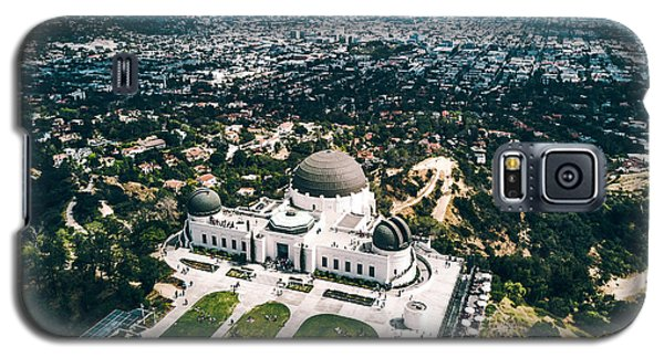Griffith Observatory And Dtla Galaxy S5 Case