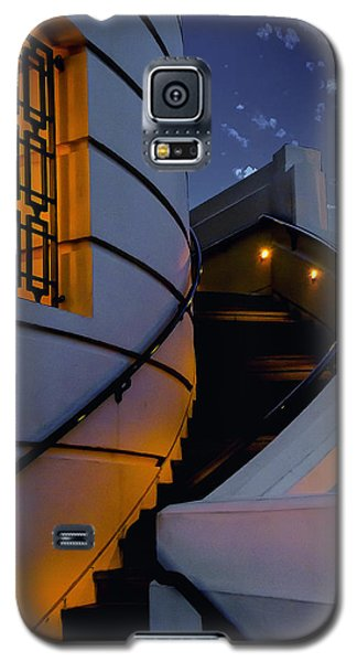 Griffith Observatory Side Entrance Galaxy S5 Case by Joseph Hollingsworth