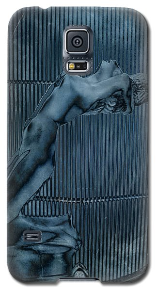 Galaxy S5 Case featuring the digital art Grill Of The Ride by Greg Sharpe