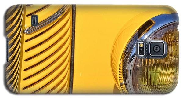 Grilled Chrome To Yellow Galaxy S5 Case