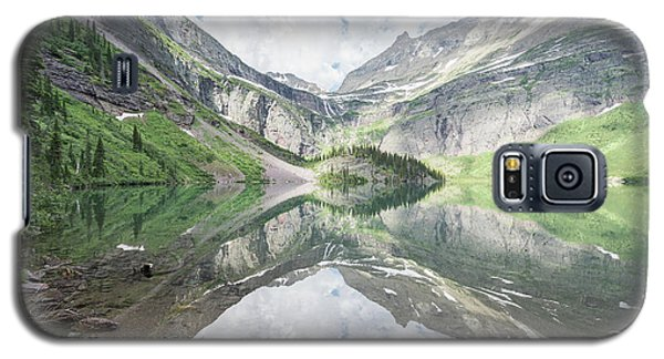 Grinnell Lake Mirrored Galaxy S5 Case
